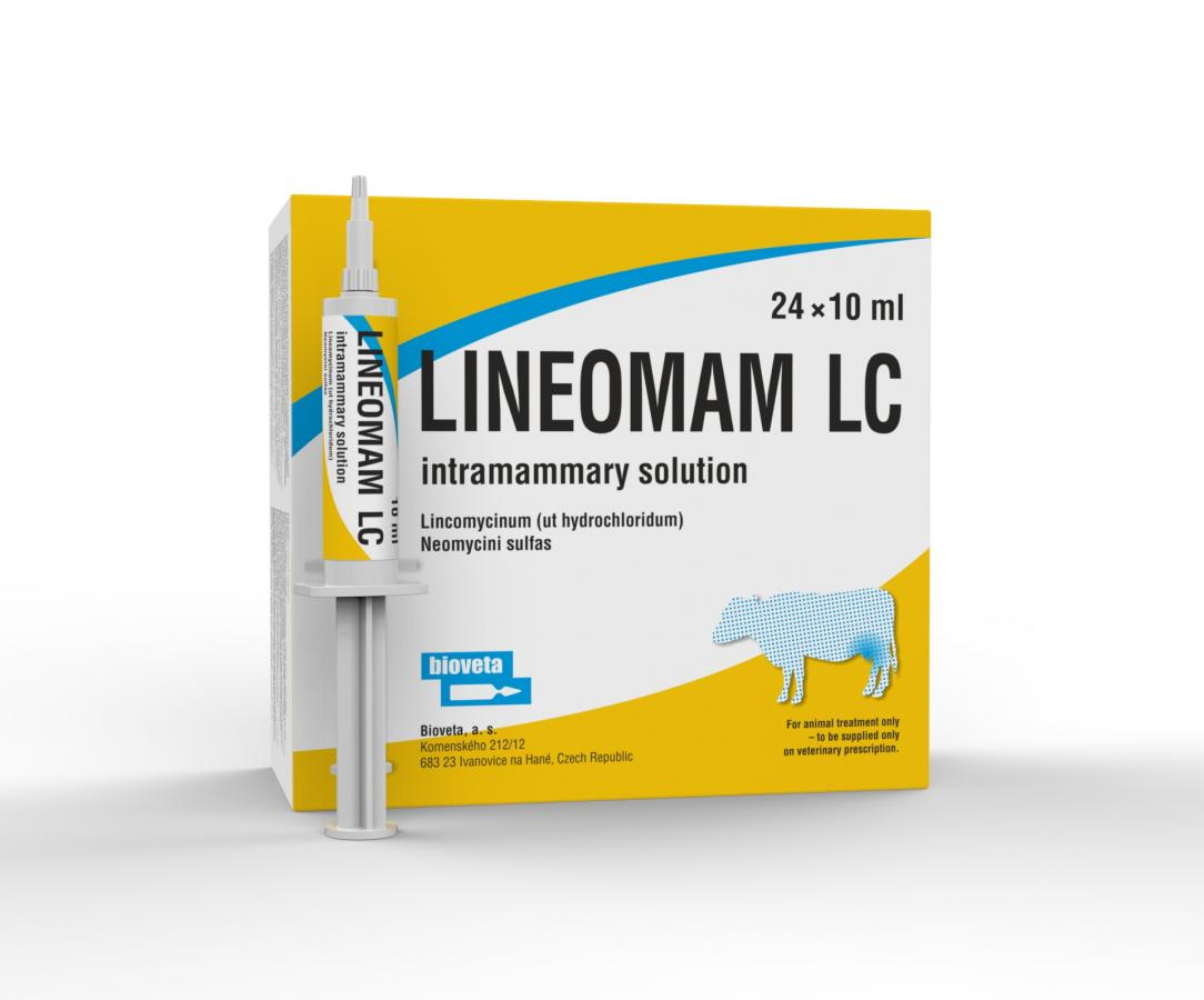 LINEOMAM LC intramammary solution