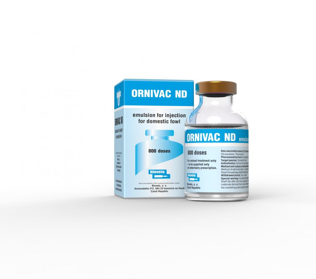 ORNIVAC ND emulsion for injection for the domestic fowl