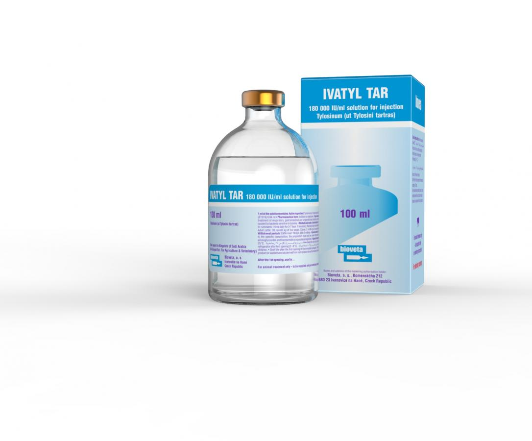 IVATYL TAR 180.000 IU/ ml solution for injection