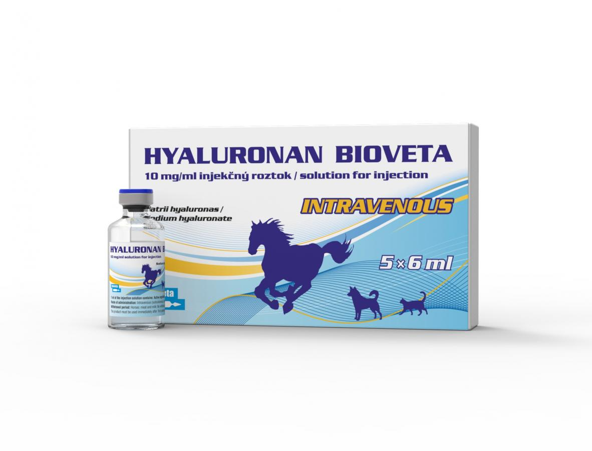 HYALURONAN BIOVETA 10 mg/ml solution for injection