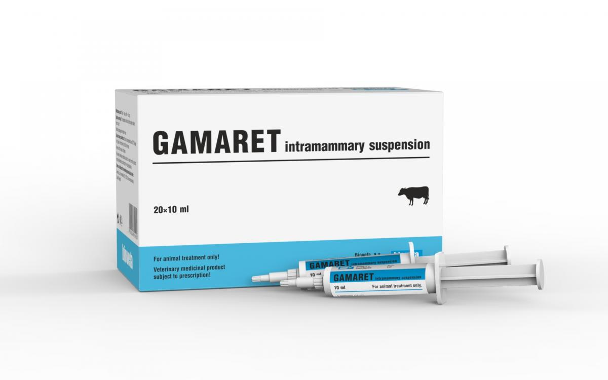 GAMARET intramammary suspension