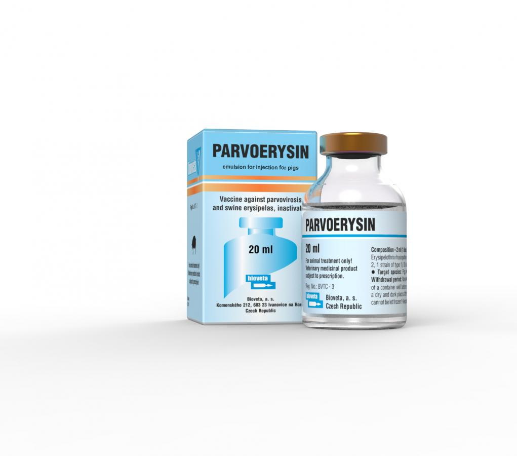 PARVOERYSIN, emulsion for injection for pigs