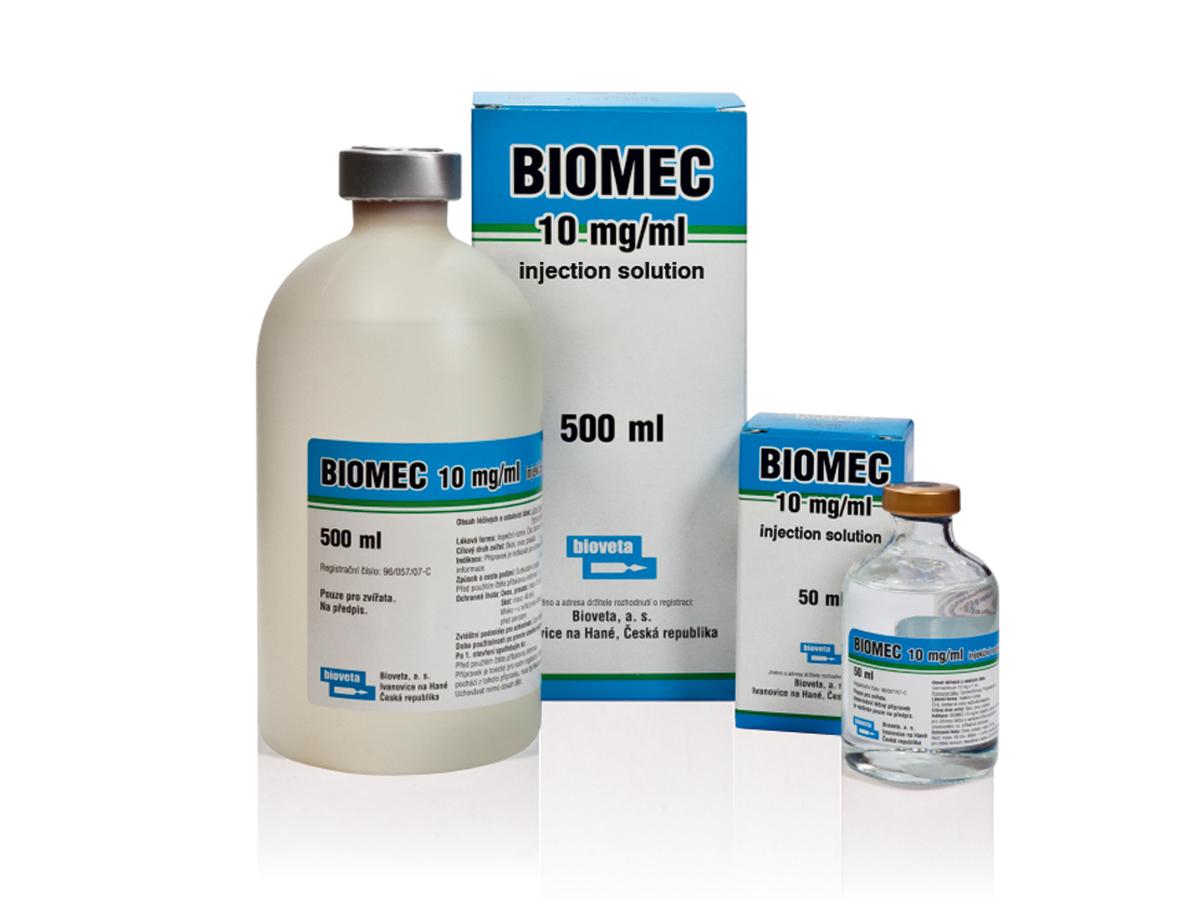 BIOMEC 10 mg/ml inj. - Bioveta a.s. International