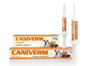 Caniverm oral paste for dogs and cats