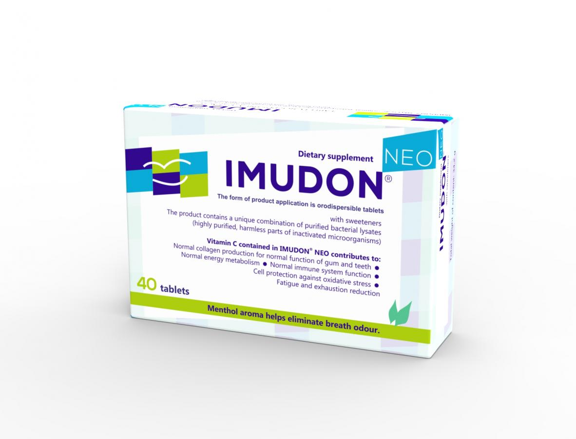 IMUDON® NEO Dietary supplement with sweeteners
