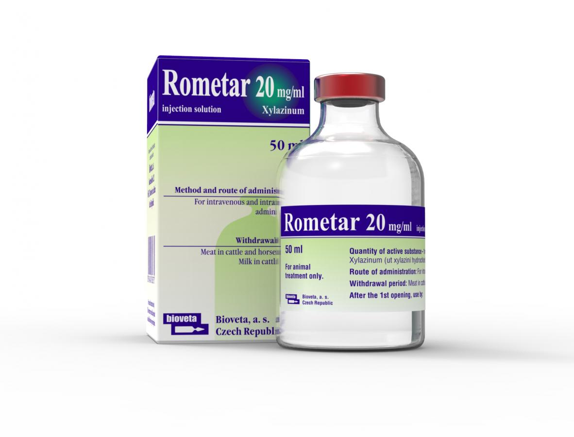 ROMETAR 20 mg/ml injection solution
