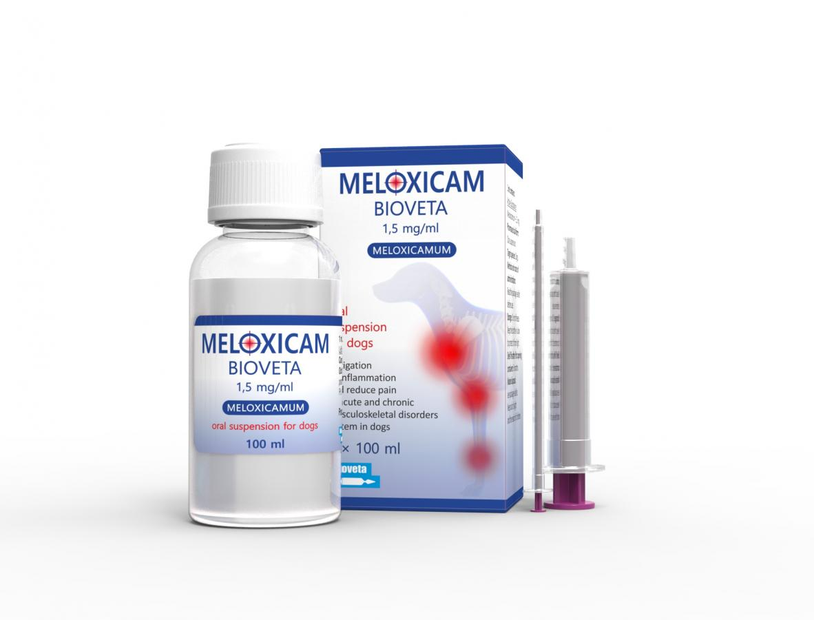 MELOXICAM Bioveta 1.5 mg/ml oral suspension for dogs