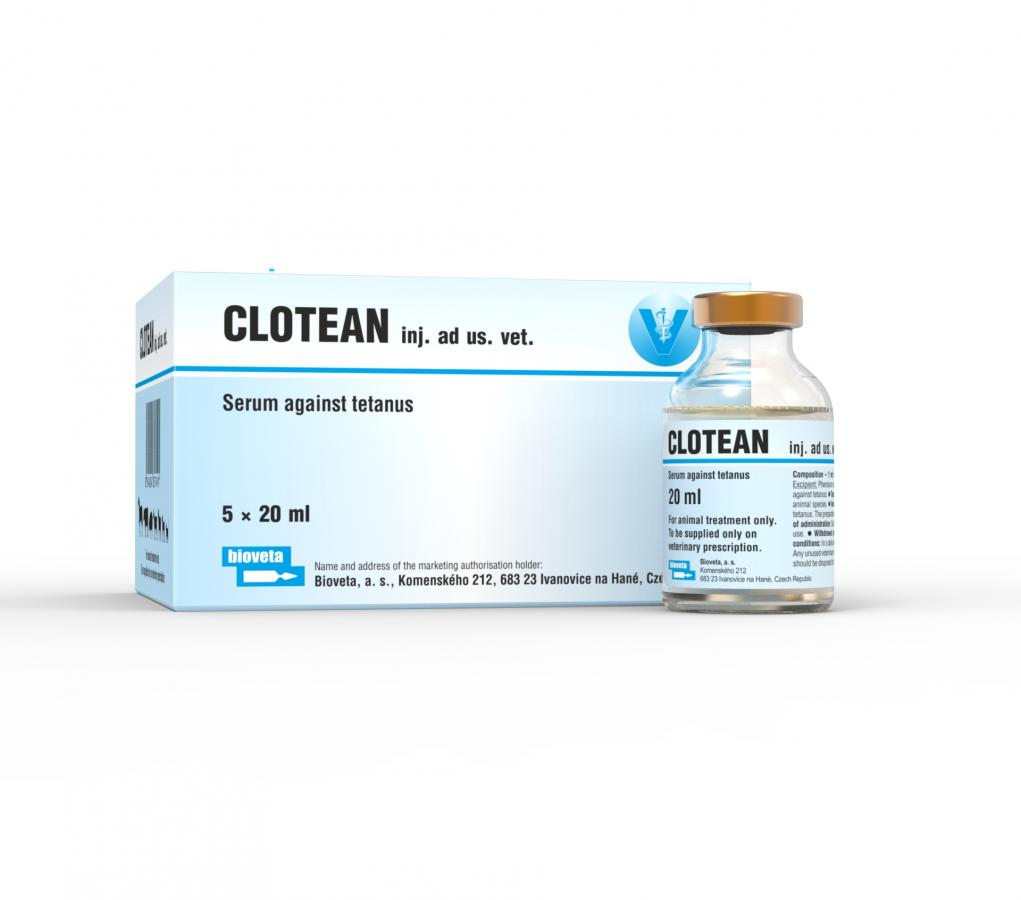 CLOTEAN, suspension for injection