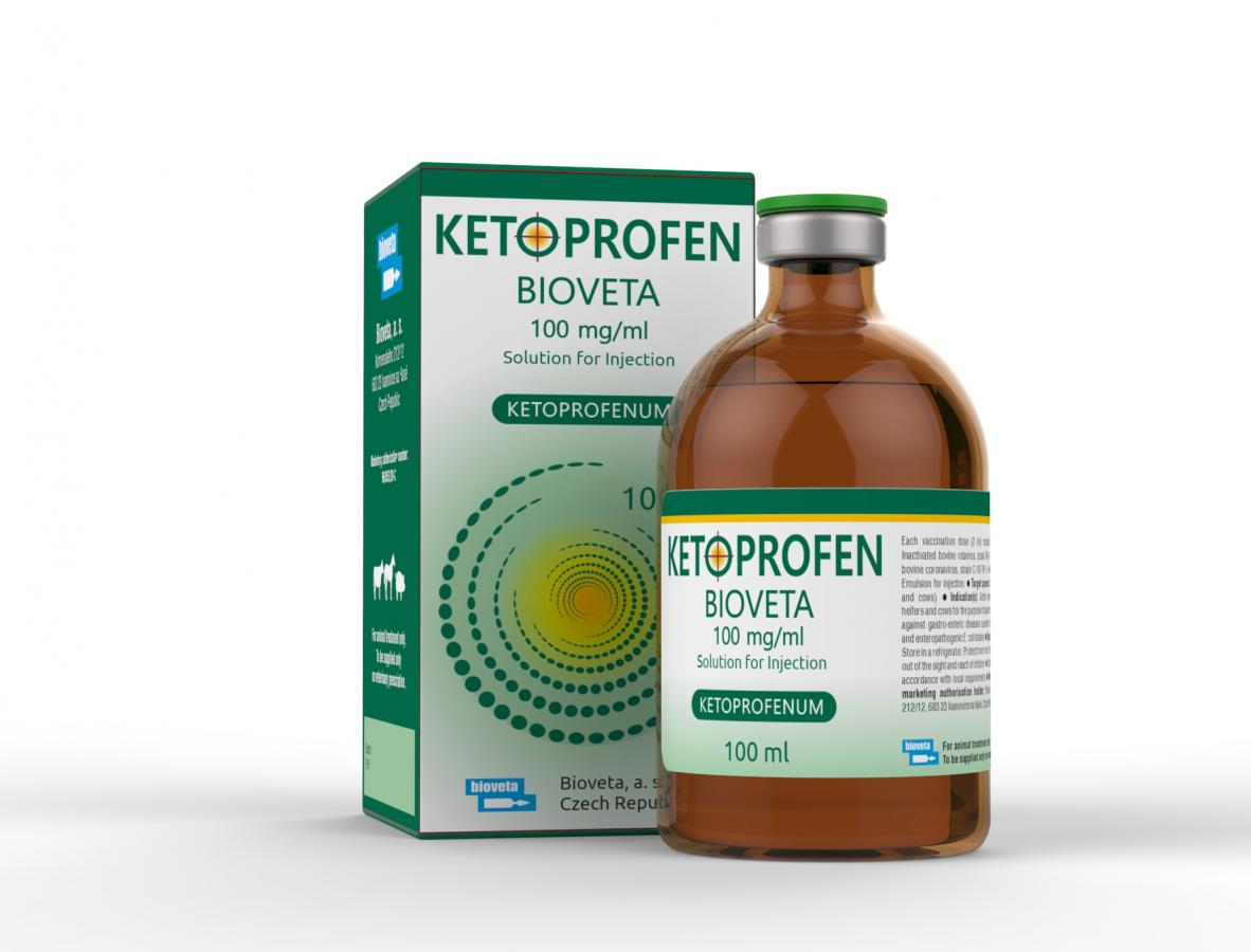 KETOPROFEN Bioveta 100 mg/ml Solution for Injection