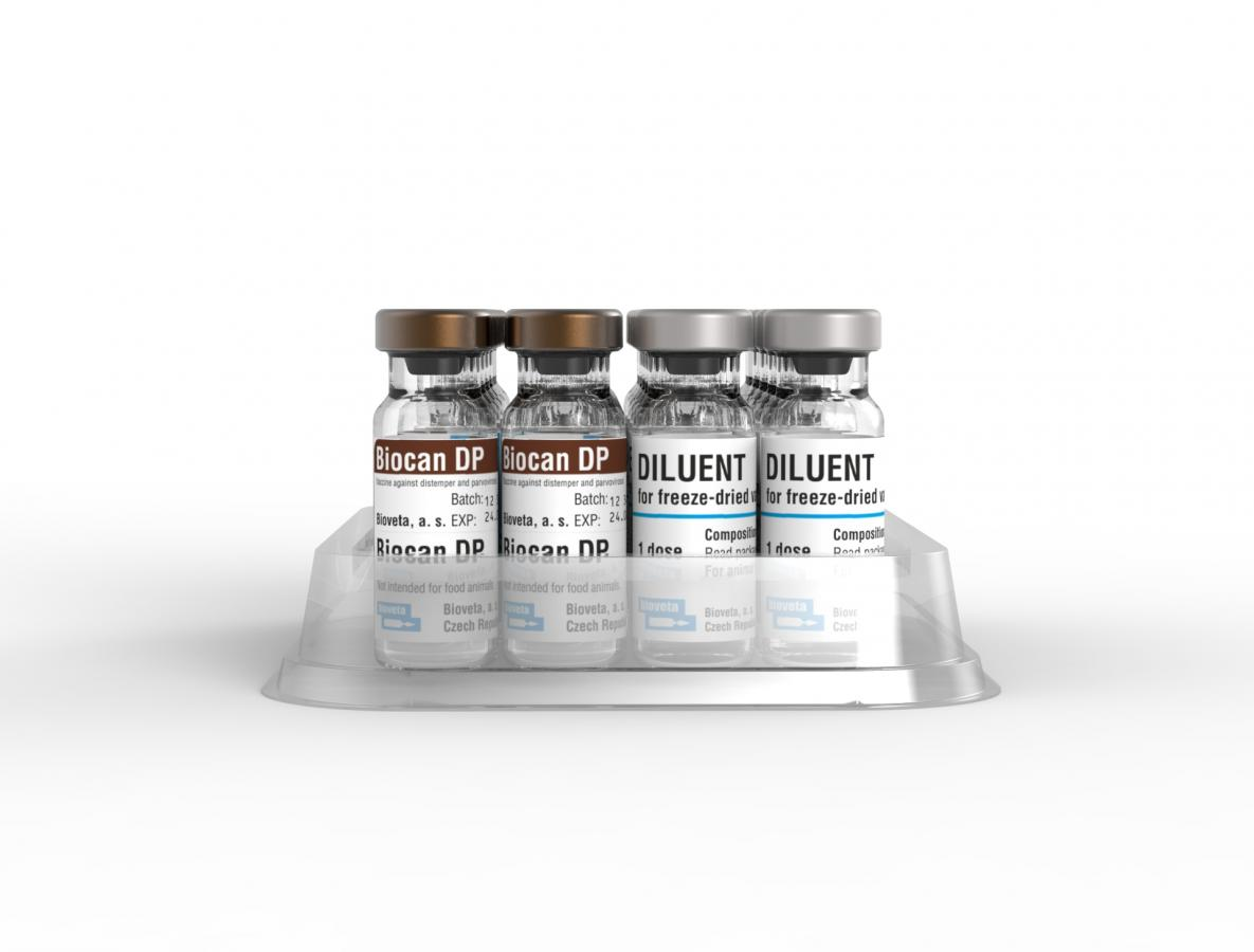Biocan DP, lyophilisate for suspension for injection with diluent