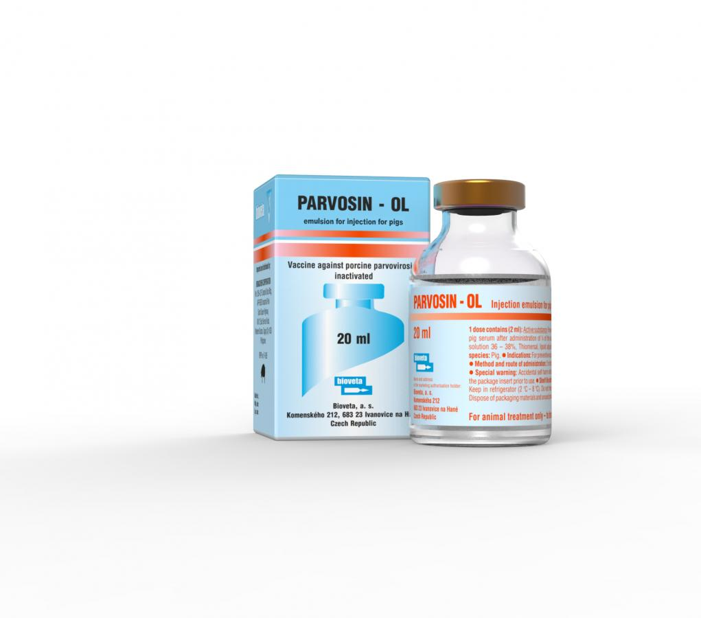 PARVOSIN-OL emulsion for injection for pigs