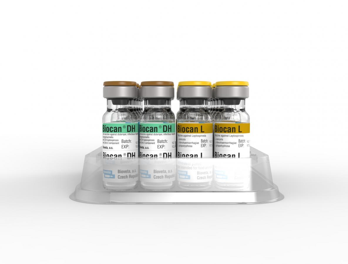 Biocan DH+L, lyophilisate for the preparation of injection suspension with diluent