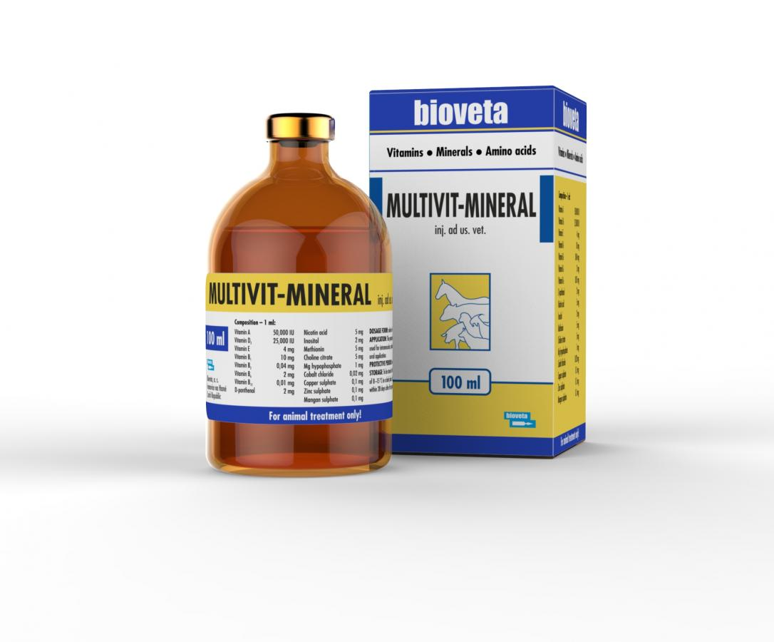 MULTIVIT – MINERAL injection solution