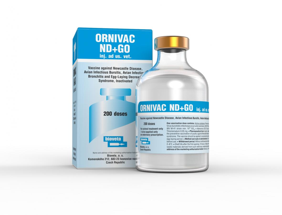 ORNIVAC ND+GO emulsion for injection for domestic fowl
